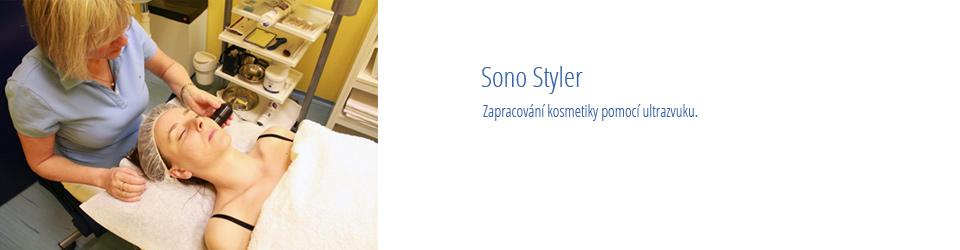Sono Styler – obličej